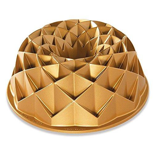 Nordic Ware 88377 Jubilee Bundt-Pfanne, eins, goldfarben Bundt Form Pan