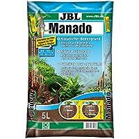 JBL Manado Substrat de Sol Naturel pour Aquariophilie 5 L