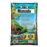JBL natürlicher Bodengrund mit Nährstoffspeicher, Reich an Eisen, 5 l, Manado