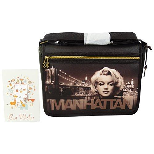 Marilyn Manhattan Henkeltaschen Umhängetaschen Schultertaschen Pc Tablet Fo -