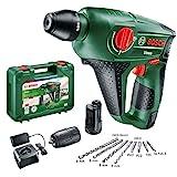 Bosch Akku Bohrhammer Uneo (2 Akku, 12 Volt System, max. Bohrtiefe in Beton...