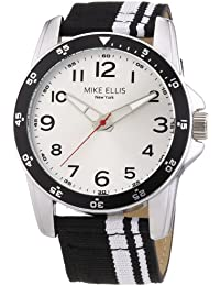 Mike Ellis New York M3145/2 - Reloj de pulsera hombre, tela, color