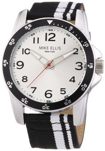 Mike Ellis New York M3145/2 - Reloj de Pulsera Hombre, Tela, Color