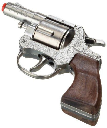Gonher 73/0 - Revolver GS8, 8 colpi, zinco, 13 cm