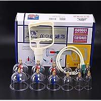 BG-YUFI YF Schröpfglas, 12 Vakuum-Schröpfkopf aus Nicht-glasiertem Silikon - preisvergleich bei billige-tabletten.eu