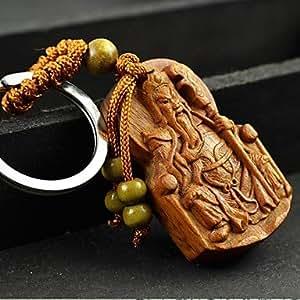 KUKU high produits de qualité en bois de poirier pendentif duc guan