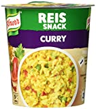 Knorr Snack Bar Reis Snack Curry 1 Portion, 8er-Pack
