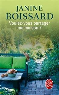 Image result for Voulez-vous partager ma maison, de Janine Boissard