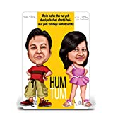 Hum Tum, Bollywood Theme Caricature Gift For Couple, Gift For Husband, Gift For Wife, Gift For Girlfriend, Gift...