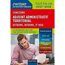 Adjoint administratif territorial 2017/2018 - Tout-en-un