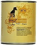 Dogz finefood Hundefutter No.6 Känguru 800 g, 6er Pack (6 x 800 g)