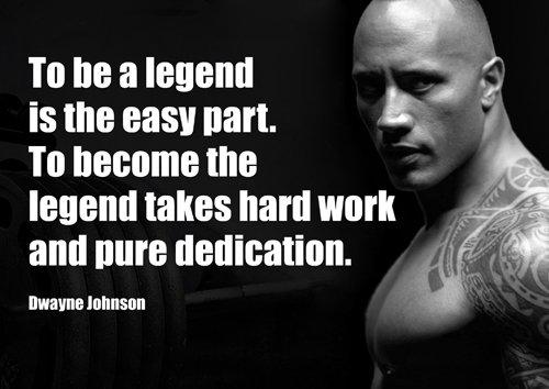 motivazionale-Dwayne Johnson 5-A4-work hard Train Harder-ginnastica-Determinazione-citazioni Sign poster stampa foto, sport, boxe, ciclismo, atletica, bodybuilding, triathlon, pallacanestro, calcio, rugby, nuoto, boxe, arti marziali, Golf, hockey, squash - Pallacanestro Carta