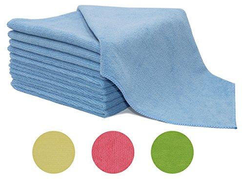 ZOLLNER-set-di-10-panni-pezze-stracci-per-pulire-in-microfibra-misura-40x40-cm-disponibili-nei-colori-rosa-azzurro-verde-giallo-direttamente-dallo-specialista-per-alberghi-serie-Poll