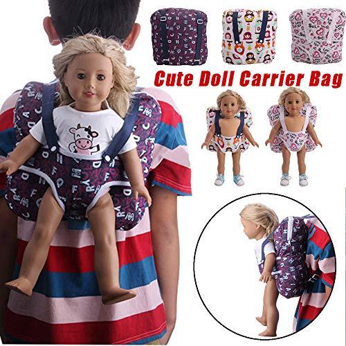 lustiges Spielzeug, ALIKEEY Zubehör Toy Daily Kostüme Puppe Tragetasche für 18 Zoll American Girl Doll