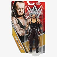 WWE BASE SERIE 71 wrestling action figure - THE UNDERTAKER - WRESTLEMANIA 33 - The PHENOM - WWE Basic Series 71 Action Figure di Wrestling - The Undertaker - Wrestlemania 33 - The Phenom