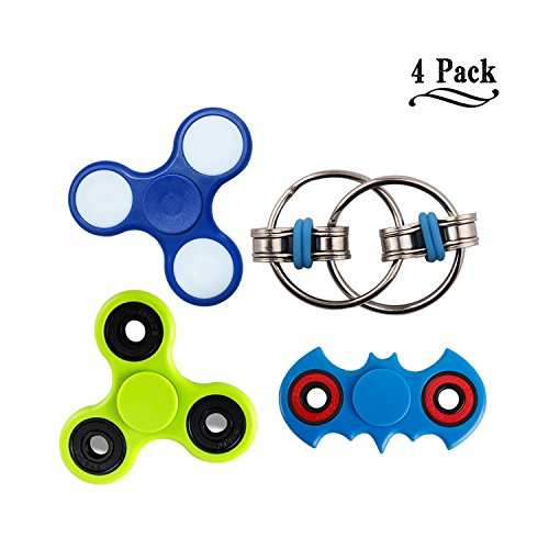 4-Pack-of-Flippy-Chain-Double-sided-LED-Tri-Fidget-Spinner-Toy-Perfect-for-ADD-ADHD-Autism-Relieve-Stress-Anxiety-and-Boredom-all-at-your-Finger-Tips