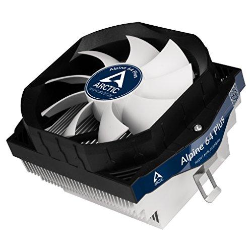 Am3-computer Pc-system (ARCTIC Alpine 64 PLUS - Flüsterleiser Prozessorkühler für AMD AM4 CPUs I bis zu 100 Watt Kühlleistung durch 92 mm PWM Lüfter - MX 4)