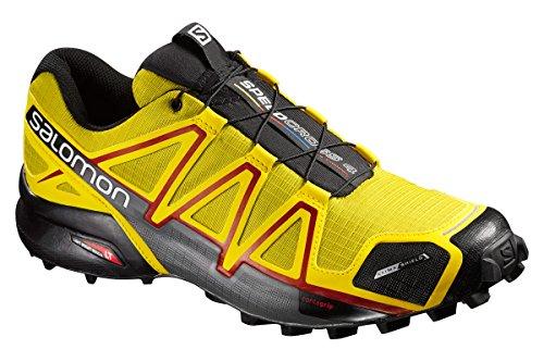 Salomon Speedcross 4 Cs, Chaussures de Running Entrainement Homme yellow