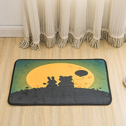 Kreative Matten Anti - Rutsch - Teppiche Kinder Teppich für Schlafzimmer , 4 , 60x90cm