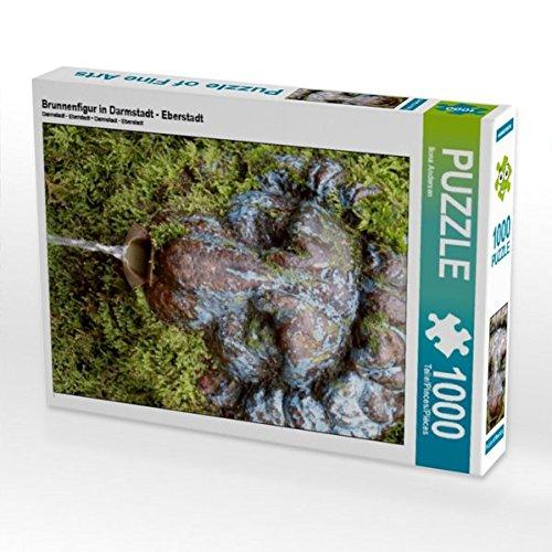Brunnenfigur in Darmstadt - Eberstadt 1000 Teile Puzzle hoch Preisvergleich