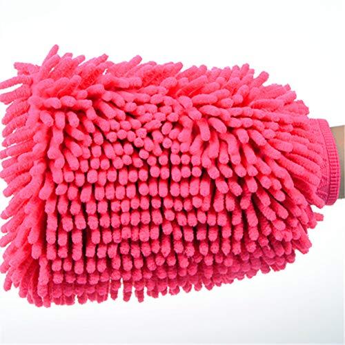 Beito 1 PC Ultimate Waschhandschuh Premium Chenille Mikrofaser Wash Handschuh Handschuh Lint Free und Scratch Free - Normalgröße