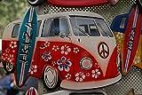 Wandbild 200x115cm Fototapete VW T2/T1 Poster XXL Tapete Vlies Bulli Old Car Camping WA44