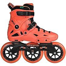 Powerslide Imperial megac ruiser 125triskates de patines en línea Naranja, naranja