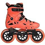 Powerslide Imperial Megacruiser 125 Triskates Inline-Skates orange orange, 41-42
