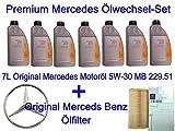 7L Original Mercedes Motoröl C-Klasse W202 W203 W204 gebraucht kaufen  Wird an jeden Ort in Deutschland