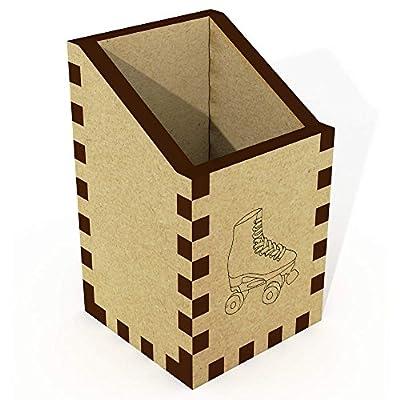 Azeeda Mini 'Rollschuh' Schreibtisch Aufgeräumt / Stiftehalter (DT00062484)