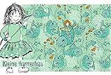 Lillestoff / Bio Jersey/DIE Kleine WASSERFRAU/GOTS / 50x150