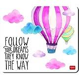 Legami MOU0001 Tappetino per Mouse, Air Balloon