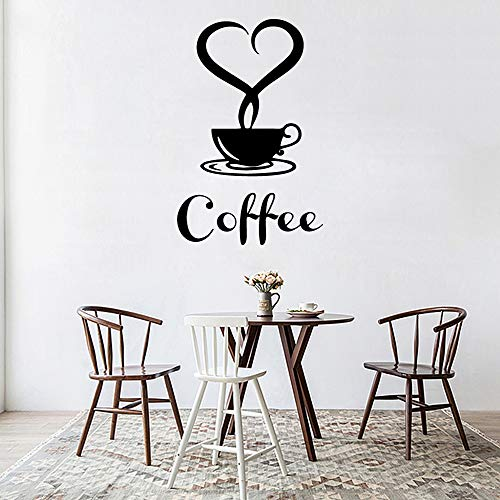 WSLIUXU Abnehmbare diy küche dekorative kaffeetasse applique vinyl aufkleber dekoration lila l 43 cm x 71 cm