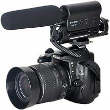 Oem AE322 - Micrófono estéreo para cámaras Canon 5D Mark II, Eos 7D, Nikon D800, D7000