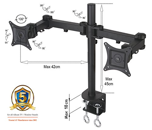 am12d-dual-twin-lcd-led-monitor-desk-mount-bracket-for-15-27-screens-tilt-up-down-15-freely-swivel-l