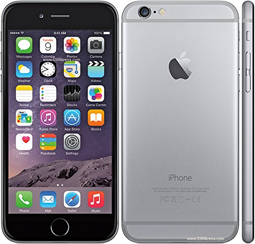 Apple I Phone 6 Mobile With 64GB Space, 8MP Camera And 4.7-inch Screen (Grey)