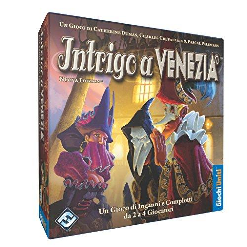 Giochi uniti gu023/1 - intrigo a venezia gioco da tavolo
