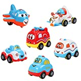 GUT® Baby Infant Inertial Spielzeug Auto 6 in a Pack for 0-2Years kids