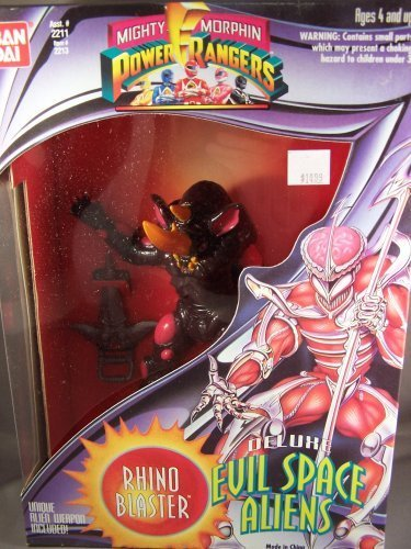 Mighty Morphin Power Rangers Deluxe Evil Space Aliens