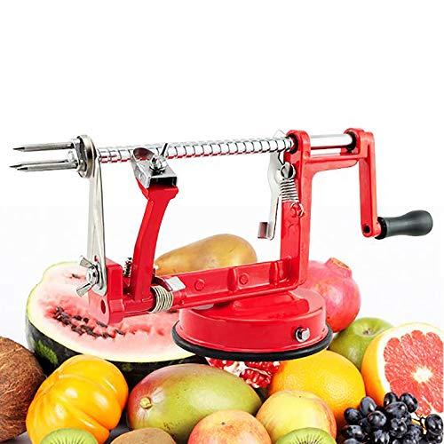 Carejoy 3 en 1 - Eplucheur de Pommes Pele Pomme Epluche Coupe Fruits Legumes