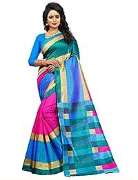 Imperial Collection Women's Bhagalpuri ART Silk Ex.Premium Saree