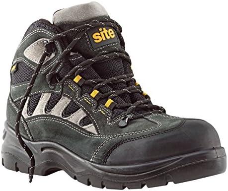 Sitio granito botas de zapatillas de seguridad gris oscuro tamaño 11