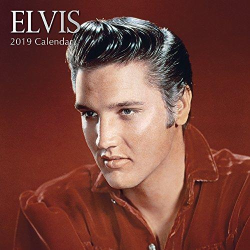 Elvis 2019 Square Wall Kalender auf Englisch -