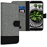 kwmobile Wallet Case for Xiaomi Black Shark - Fabric and PU
