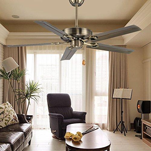 SDKKY der deckenventilator, esszimmer, schlafzimmer, retro - kleine, deckenventilator, wohnzimmer - fan lampe, eiserne klinge ohne lampe, fan - lampe,blätter Kleine Klinge Deckenventilator