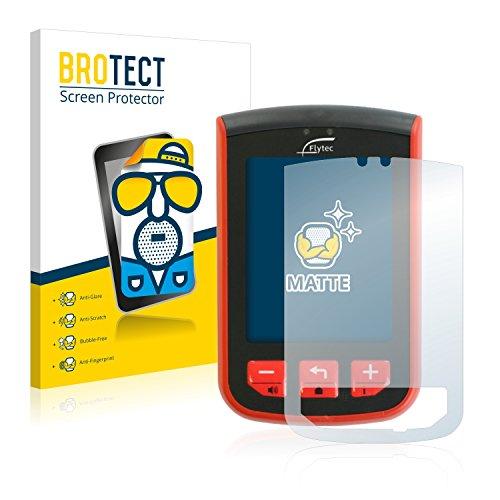 BROTECT Schutzfolie Matt für Flytec Connect 1 Displayschutzfolie [2er Pack] - Anti-Reflex Displayfolie, Anti-Fingerprint, Anti-Kratzer