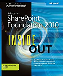 Microsoft SharePoint Foundation 2010 Inside Out (Inside Out (Microsoft)) by Errin O'Connor (10-Oct-2011) Paperback