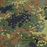 TOLKO Bundeswehr Camouflage | WASSERDICHT | als Zelt- und