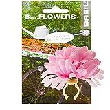Basil Flower Dahlia Fahrrad Lenkerblume Dekoration, FlowerDahlia, Farbe rosa