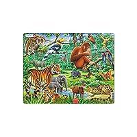Larsen FH24 Puzzle représentant la jungle